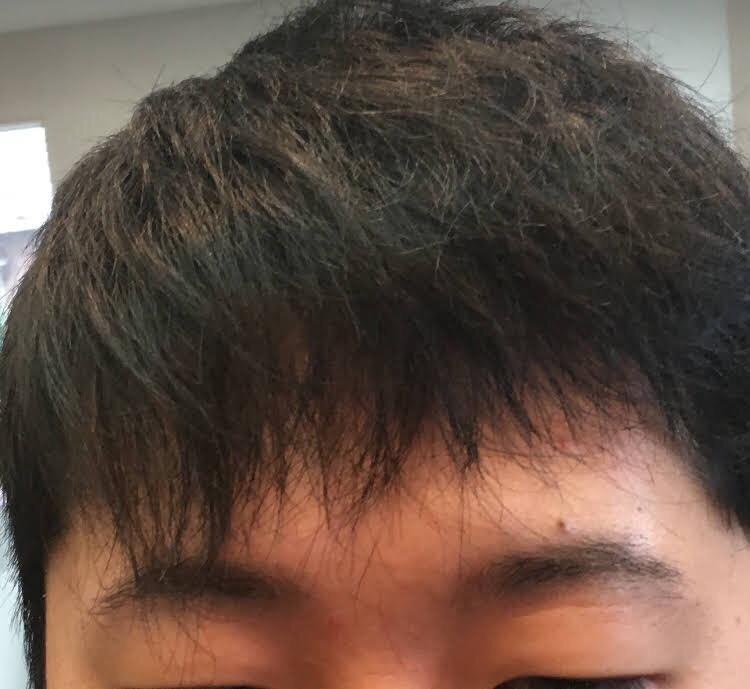 梳きすぎて崩れた髪の修正!梳き過ぎダメゼッタイ